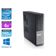 pc de bureau i5 pc de bureau d occasion dell 790 desktop i5 4go 250go hdd