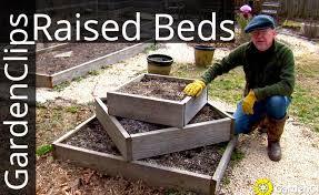 raised garden beds easy raised vegetable garden bed designs