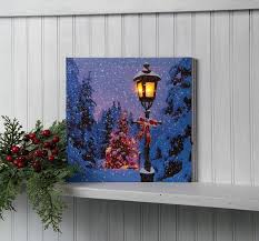 lighted canvas art with timer radiance lighted canvas timer lighted l post canvas canvas
