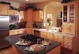 Used Kitchen Cabinets Ct Maple Kitchen Cabinets With Cherry Stain Tehranway Decoration