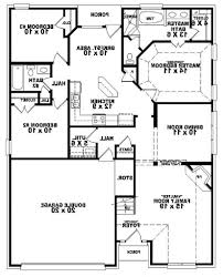 A 1 Story House 2 Bedroom Design Home Design 654334 Simple 2 Bedroom Bath House Plan Plans Floor