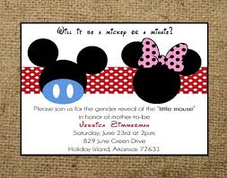 mickey mouse baby shower invitations minnie mouse baby shower invitations party invitation ideas