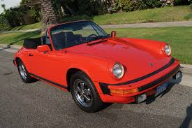 porsche convertible black 1983 porsche 911sc cabriolet black leather stock 502 for sale