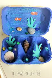 egg carton ocean craft the imagination tree