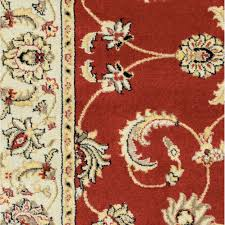 Flower Area Rugs by Red Floral Area Rug Roselawnlutheran