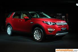 land rover india land rover discovery sport launched in india at rs 46 10 lakhs