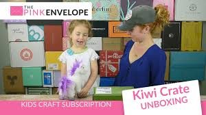 kiwi crate secret agent review kid u0027s subscription box youtube