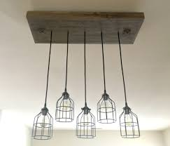 wire guards for light fixtures vintage industrial pendant l with wire guard wood light fixture