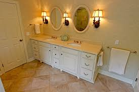 Master Bath Oasis White Cabinets Caesarstone Countertop - White cabinets for bathroom