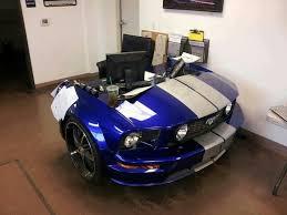 Car Office Desk Mustang Desk Cars I Like Pinterest Mustang Desks And