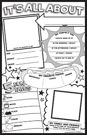 best 25 all about me poster ideas on pinterest birthday charts
