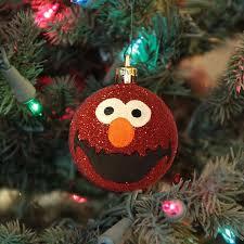 personalized puppet ornaments elmo ornament