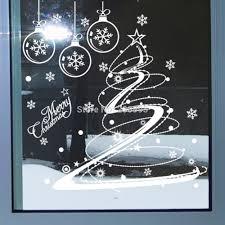 vinyl christmas tree christmas lights decoration