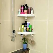 adhesive bathroom shelf self stainless steel wall mounted shower