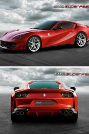 cars ferrari 2017 ferrari 2017 look the 2018 ferrari 812 superfast production car
