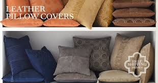 Couch Pillow Slipcovers Leather Accent Pillows Williams Sonoma