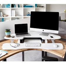 Height Adjustable Corner Desk by Veri Desk Varidesk Uk Pro Plus 36 White Standing Why The