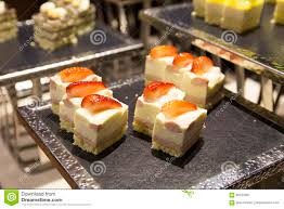 cuisine de a à z dessert dessert snacks at a buffet bar stock image image of fruits