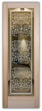 Ornate Interior Doors Vctrn Lace Interior Doors With Glass Etching Style