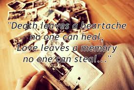 quote about losing a loved one x things
