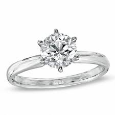solitaire engagement ring top products collections zales
