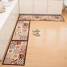 Rubber Backed Kitchen Rugs Home And Kitchen Rugs 2 Pieces 4 Size Decorative Non Slip Rubber