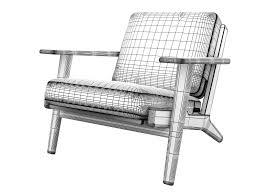 hans wegner plank sofa 3d hans wegner plank chair cgtrader