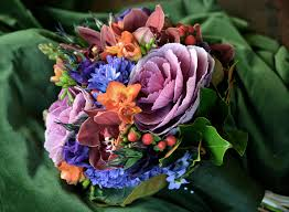 blue and purple flowers t rose times