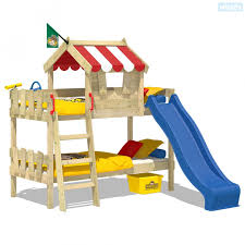 Bunk Bed With Slide CrAzY Circus Wickeycouk - Slide bunk beds