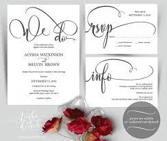 wordings blank wedding invitation templates for microsoft word