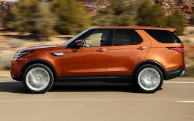orange land rover discovery land rover discovery 2017 us wallpapers and hd images car pixel