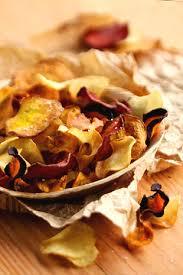 cuisiner les l馮umes anciens chips de légumes oubliés lovely food chips de
