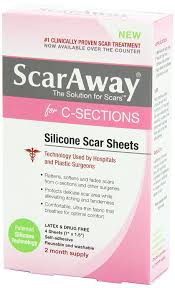 amazon com scaraway c section scar treatment strips silicone