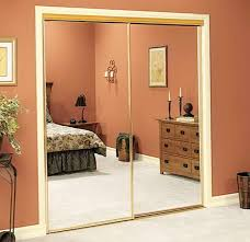Vancouver Closet Doors Mirrored Bifold Closet Doors Without Bottom Track Home Design Ideas