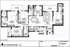 Pioneer Park Gurgaon Floor Plan 2 Floor Plan 2125 Jpg