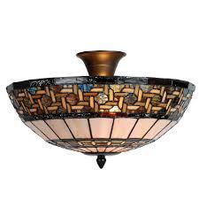stretford ceiling semi flush ceiling light by