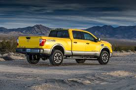 yellow nissan truck 2016 nissan titan xd review