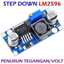 Jual Dc Step jual lm2596 adjustable dc dc step module ultra compact input 3