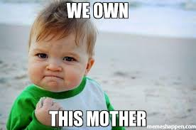 Meme With Own Picture - we own this mother meme success kid original 23258 memeshappen