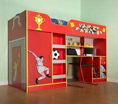 kids bedroom furniture moms bunk house blog blue boys room idolza plenteous football pattern sleeper cabin high beds with study desk set added bookcase on wood floors bedroom