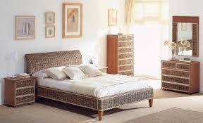 chambre en osier meuble chambre rotin raliss com