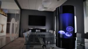 soothe any space with a living jellyfish aquarium connectedly