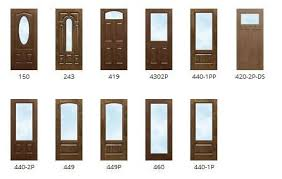 Steel Exterior Doors With Glass Fiberglass Exterior Door Home Designs Ideas