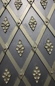 metal door and ornament stock photo image 51801784