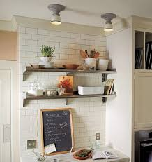 Open Shelves In Kitchen by Task Lights And Open Shelving In Kitchen Google Search My New