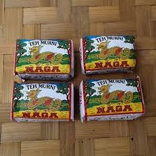 X Teh teh naga indonesia traditional tea 10 packs x 15gr ebay
