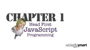 javascript tutorial head first head first javascript programming chapter 1 youtube