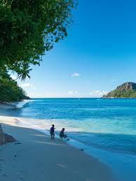 Seychelles Map Praslin Island So Seychelles