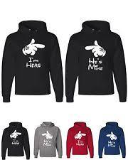 cute couple hoodies ebay