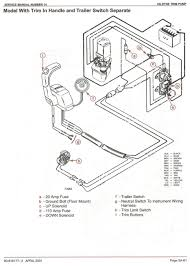 mercury outboard power trim wiring diagram with schematic images